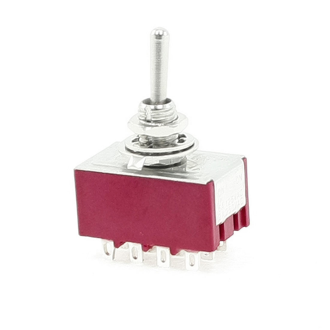6A/125VAC 2A/250VAC 12 Pin 4PDT ON/ON 2 Position Mini MTS-402 Toggle Switch