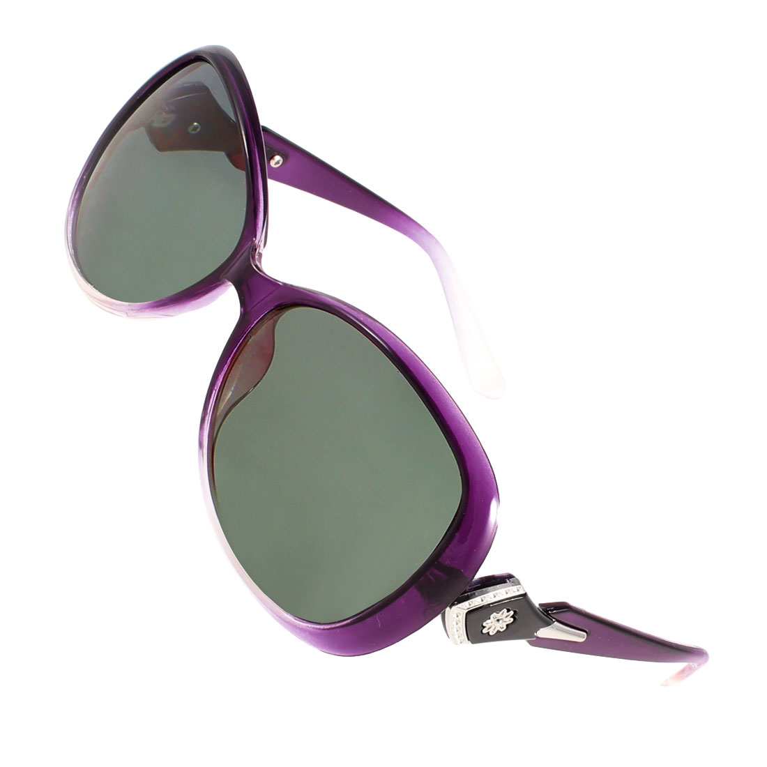 Ladies Women Driving Sports Full Frame Eyeglasses Polarized Sunglasses Purple