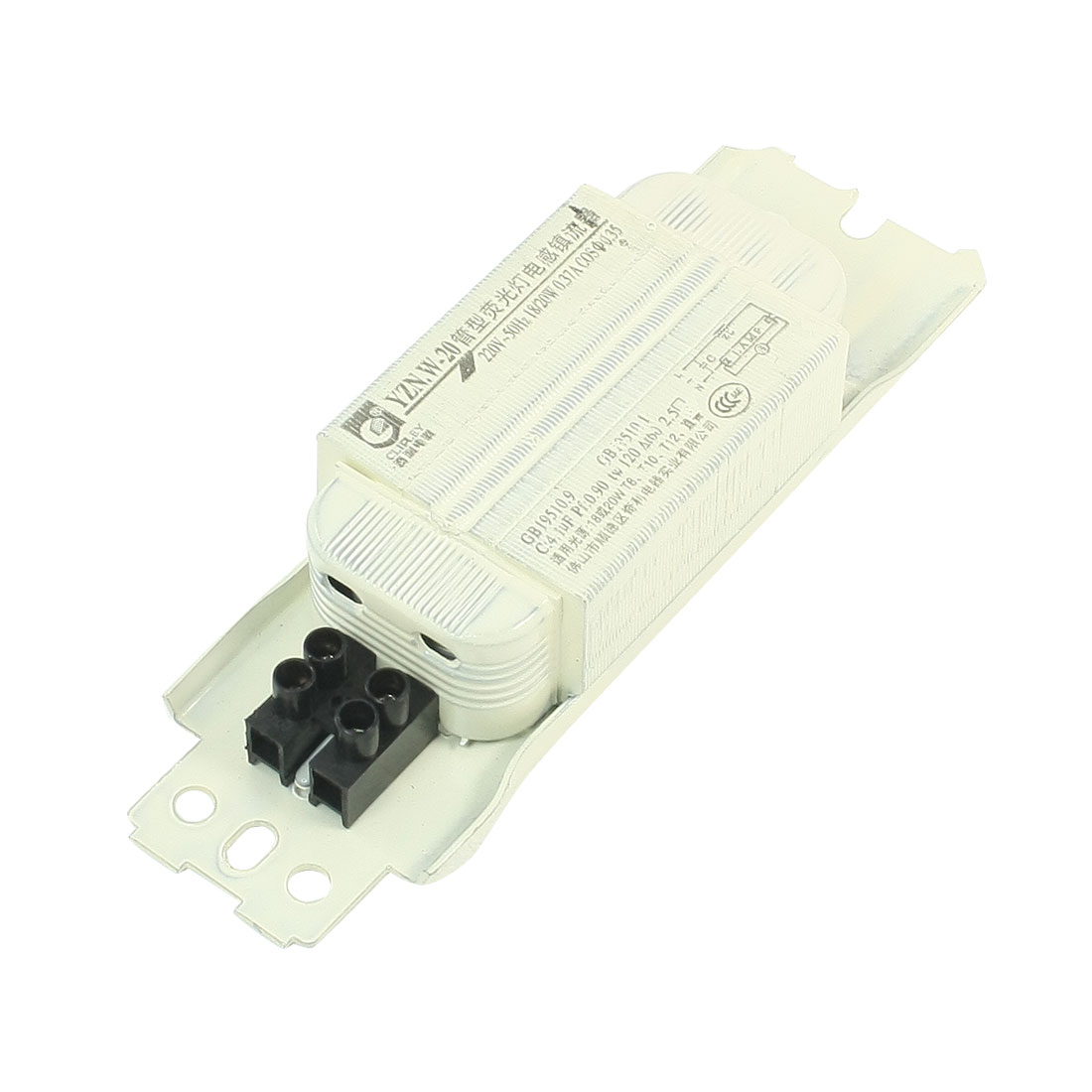 AC 220V 0.37A 20W Power Electronic Ballast for Fluorescent Lamp Light