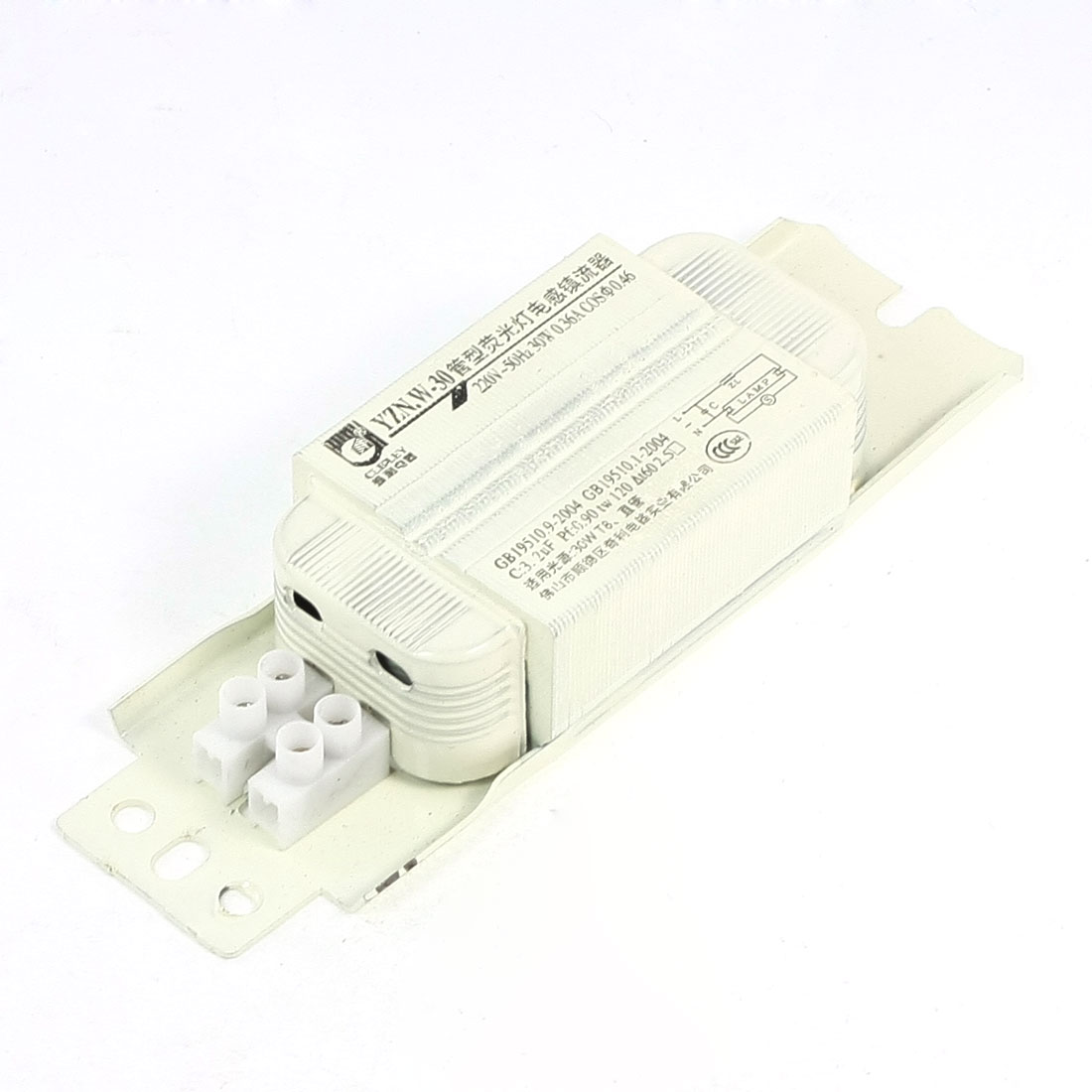 AC 220V 0.36A 30W Fluorescent Lamp Ballast for 30W T8 Stripe Tube