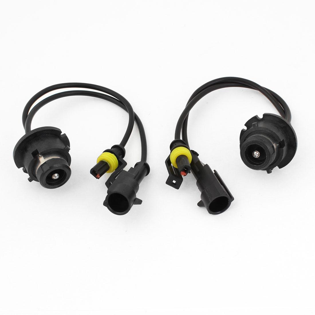 Adapters Plugs Xenon HID D2S D2R Ballast 2 Pcs