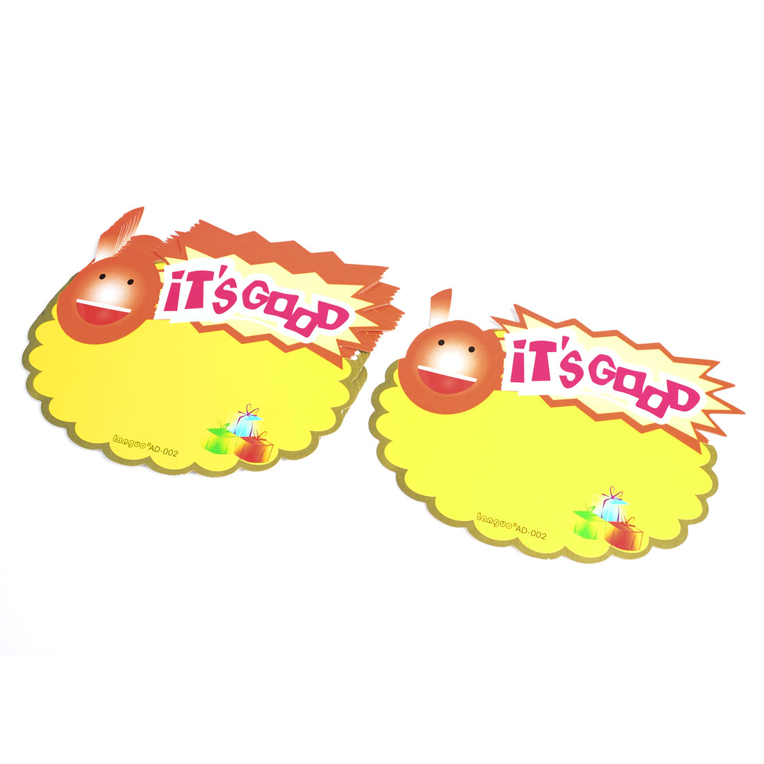 10pcs Shop Sale It's Good Pattern Promotional Price Tags POP Paper Cards