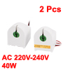 2 Pcs T10 T12 Fluorescent Tube Bulb Lamp Holder Ballast 40W AC 170V-250V 50Hz