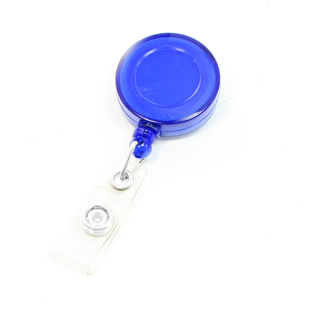 Round Plastic Shell Personal Item Safety Guard Pull String Clear Blue