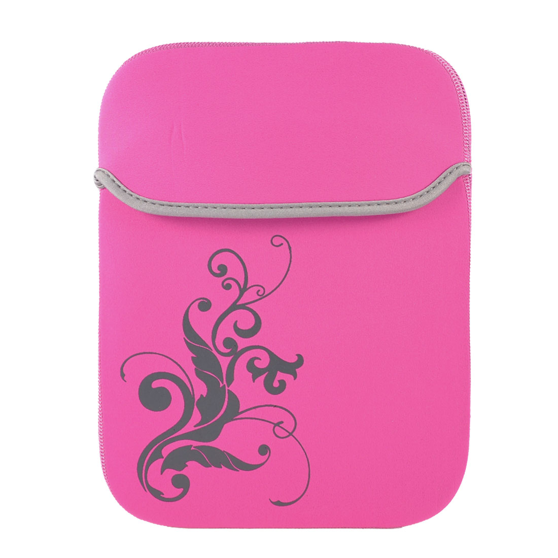 "10"" 10.1"" Tablet Netbook Laptop Flower Pink Neoprene Sleeve Bag Case Pouch"