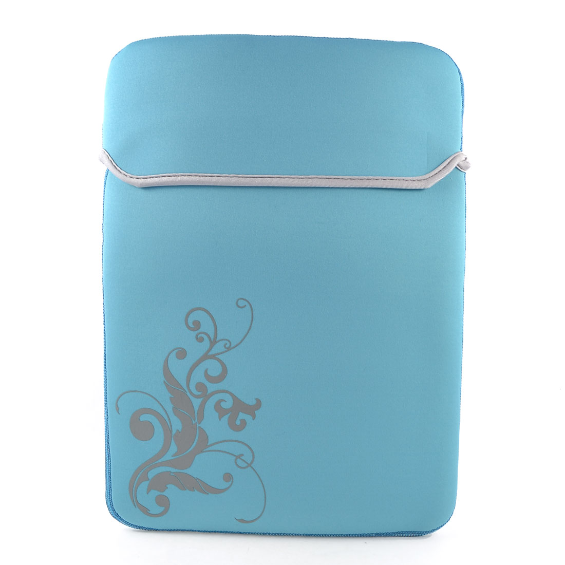 "14"" 14.1"" Laptop Computer Flower Sky Blue Neoprene Sleeve Bag Case Pouch"