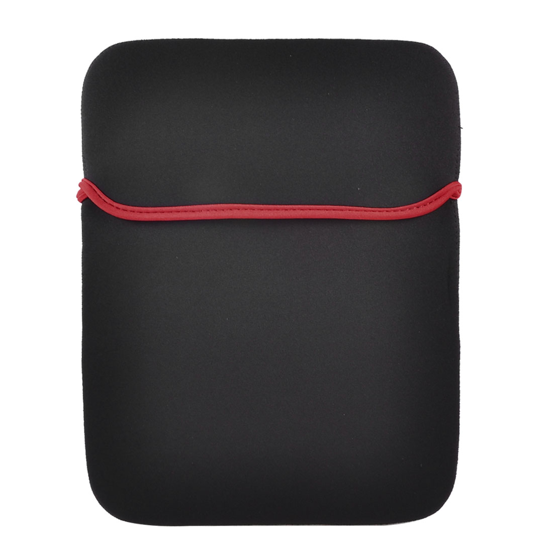 "14"" 14.1"" Laptop Red Brim Black Neoprene Sleeve Bag Case Pouch Cover"