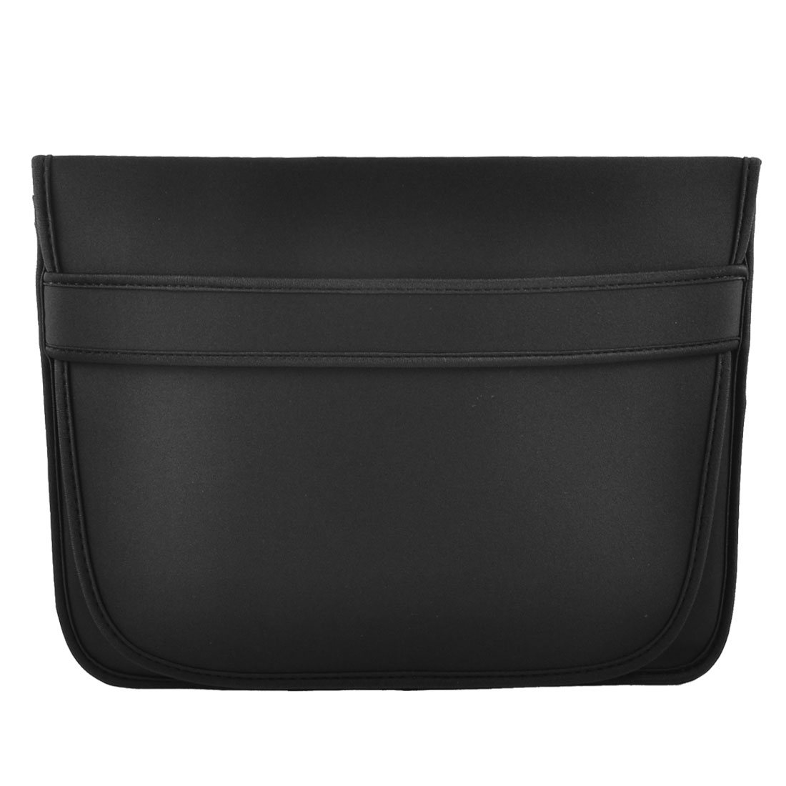 "15"" 15.4"" Laptop Flip Up Neoprene Travel Sleeve Bag Case Pouch Black"