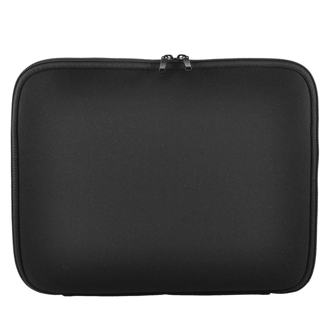 "15"" Laptop Zip Up Black Neoprene Sleeve Bag Case Pouch Cover"