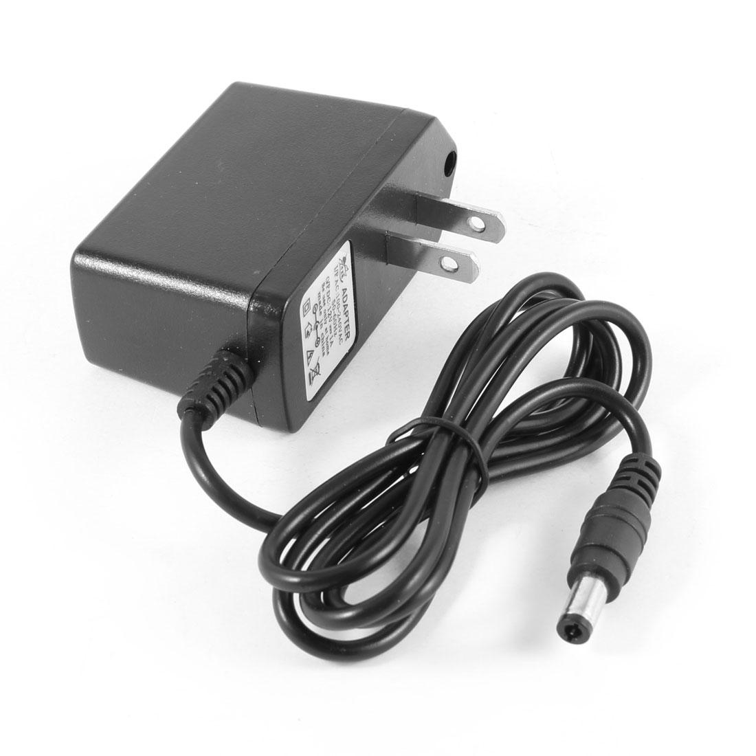 US Plug 100V-240V AC Input 12V 1A DC Output Power Supply Adapter for CCTV Camera DVR