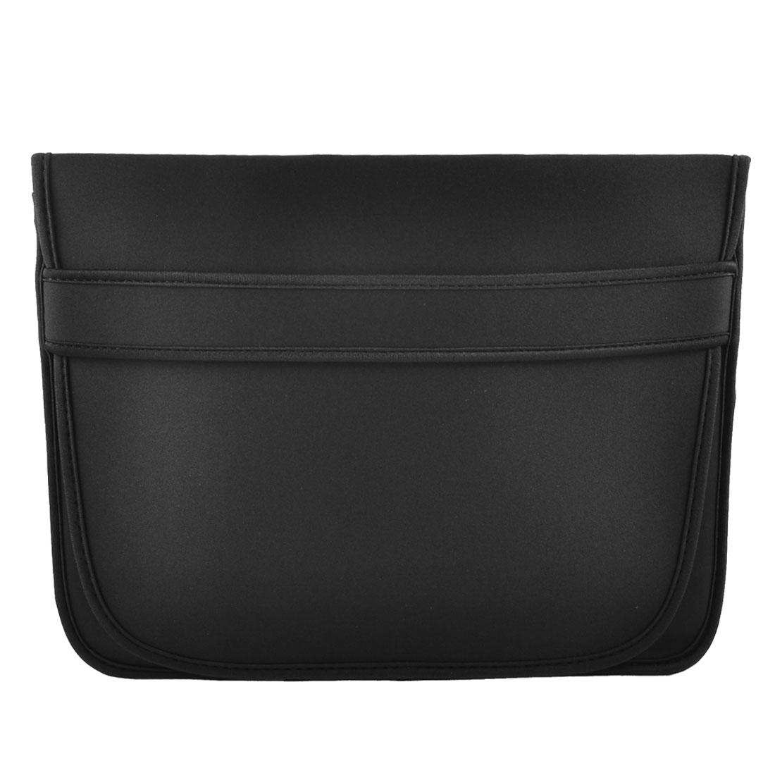"""14"""" 14.1"""" Laptop Flip Up Neoprene Sleeve Bag Case Pouch Cover Black"""