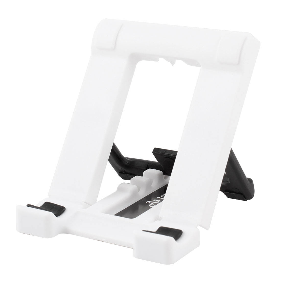 Universal Adjustable Stand Phone Holder Black White for Mp4 Mobile Phone
