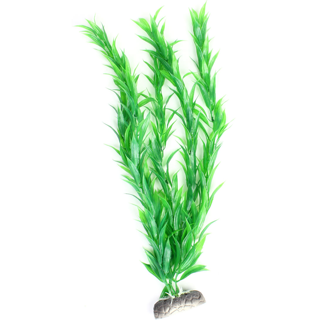 "21.1"" Height Underwater Plastic Plants Grass Green Decoration for Fish Tank"