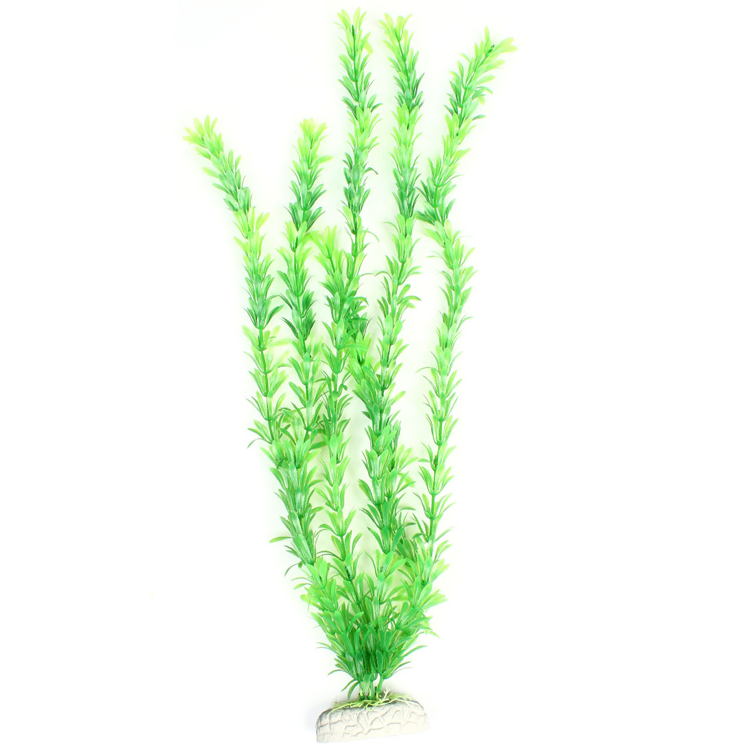 "21.7"" Height Green Manmade Plastic Plant Grass Decoration for Fish Tank"