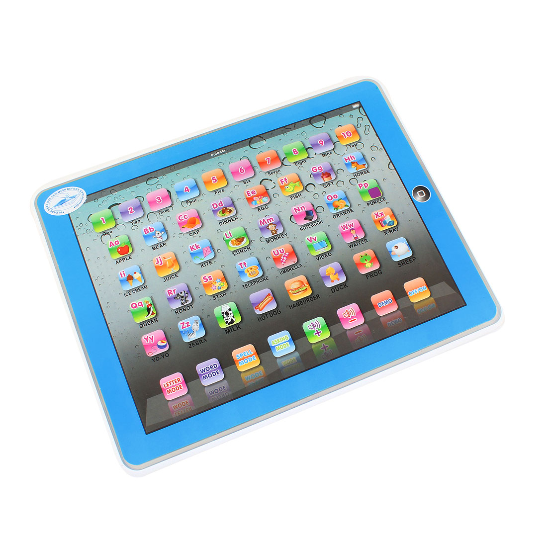 Kids Y-Pad Learning Table Toy Machine Alphabet Number Tablet English Computer