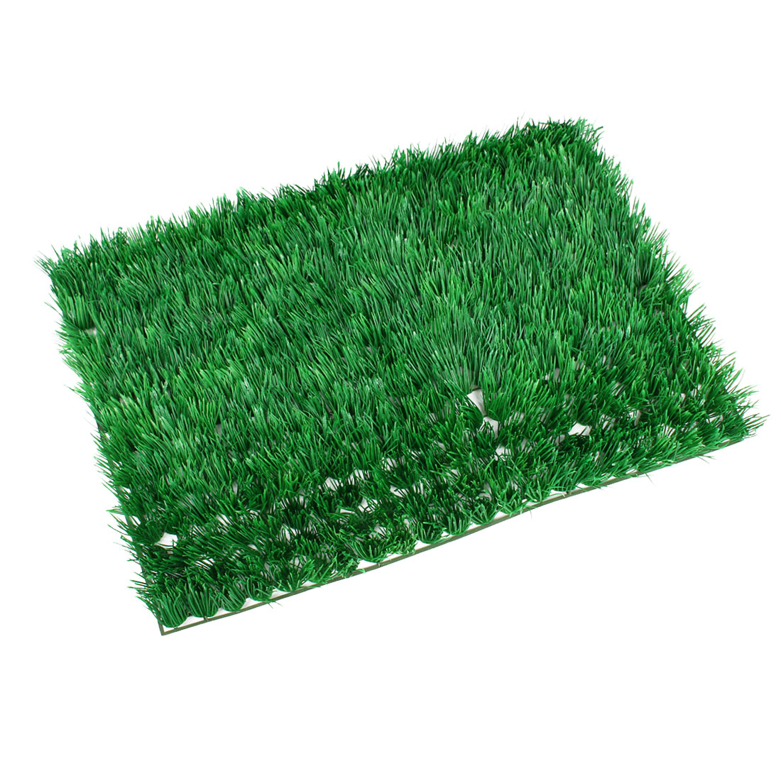 Green Aquarium Decor Oranment Aquascaping Square Shaped Manmade Lawn
