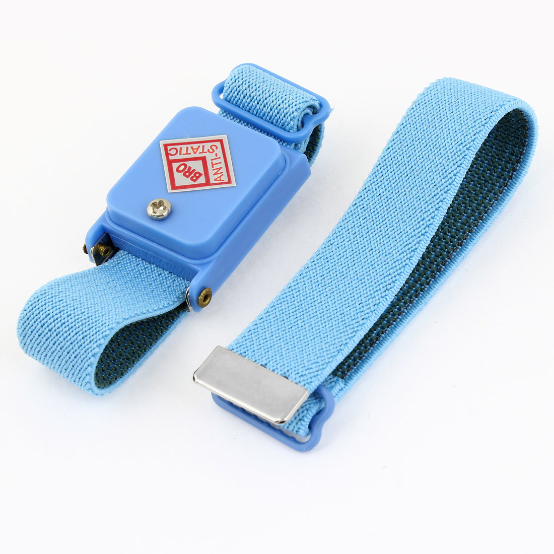 Blue Cordless Stretchy Wristband Anti-static Wireless Wrist Strap