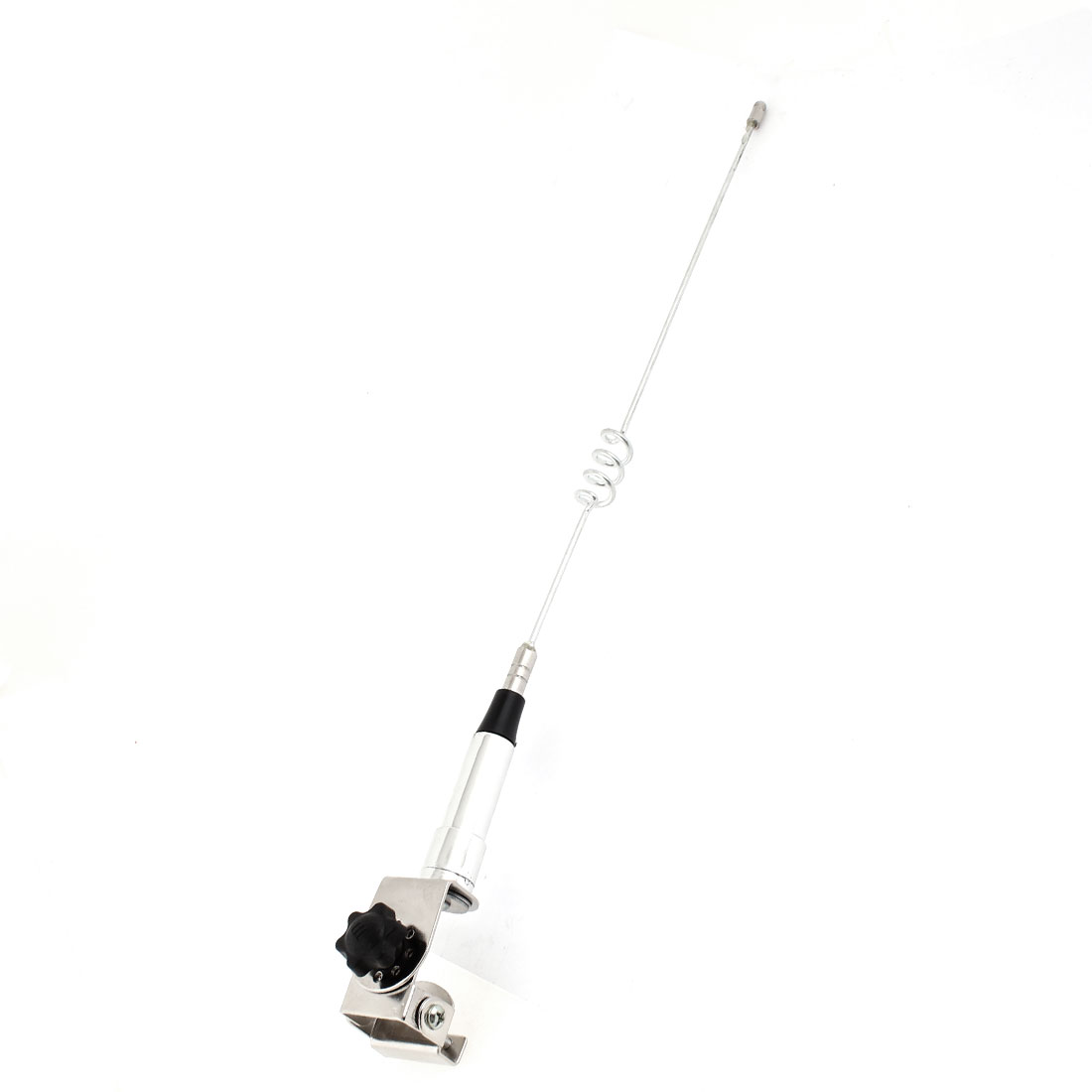 Vehicle Car Decorative Dummy Antenna Black Silver Tone 44cm Height