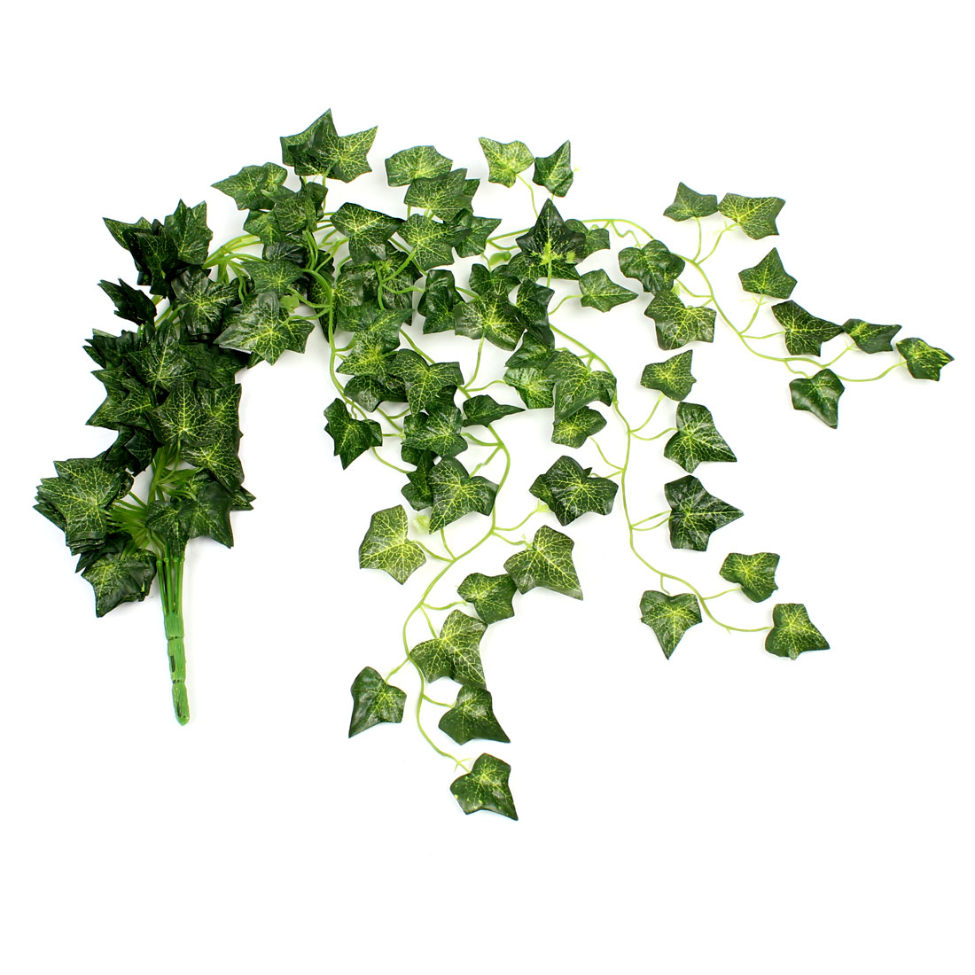 "Home Room Party Decortaion Green Artificial Maple Leaf Ivy 37"" Length"
