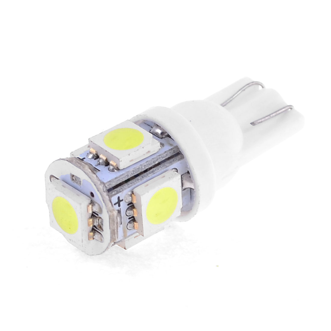 Car Auto White 5 LED Panel 5050 SMD Reading light Lamp Bulb