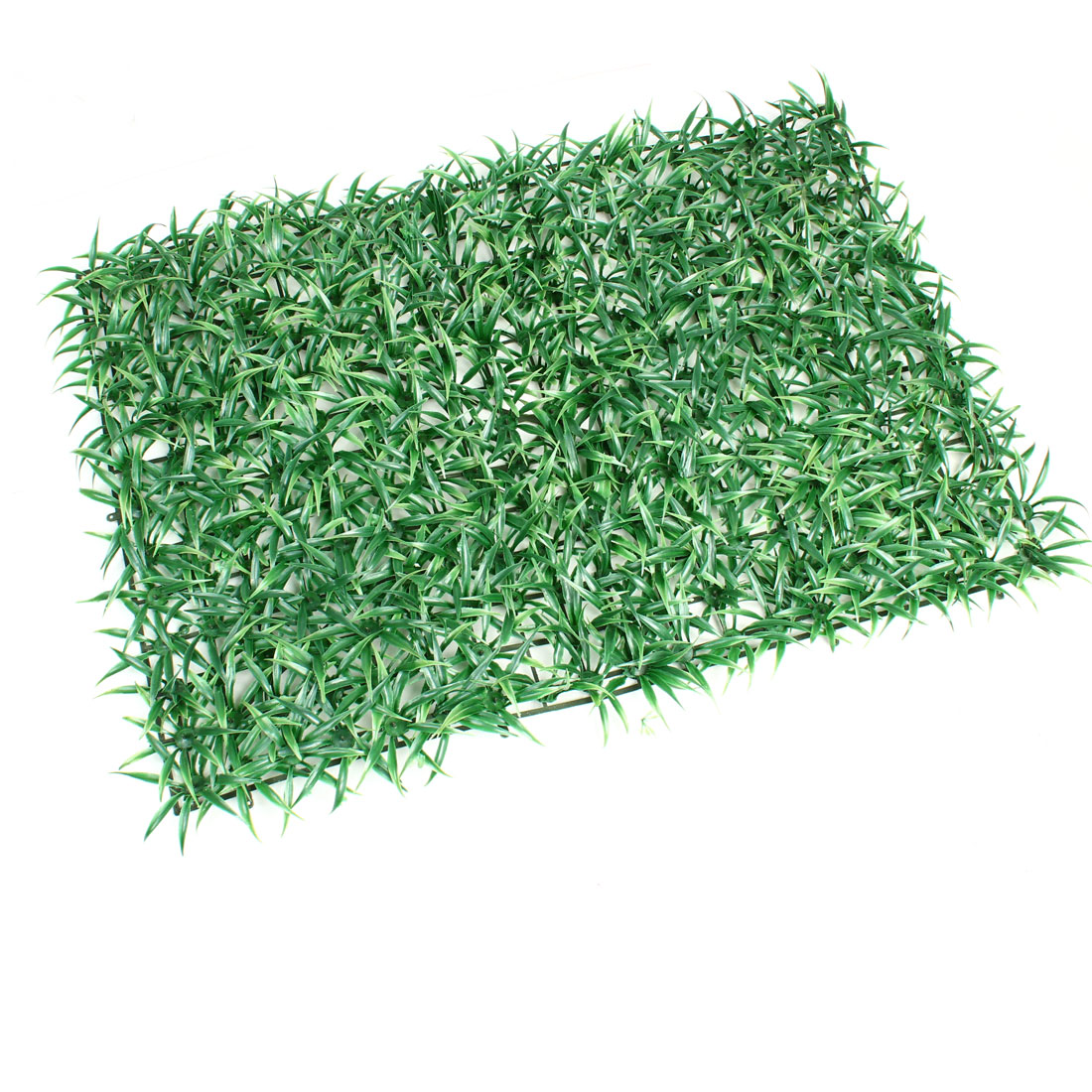 "23"" x 16"" Artificial Green Plastic Grass Lawn Aquarium Fish Tank Decoration"