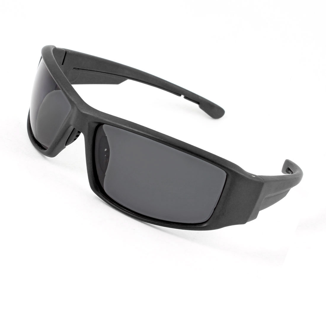 Black Gray Full Frame Plastic Arms Polarized Sunglasses for Man