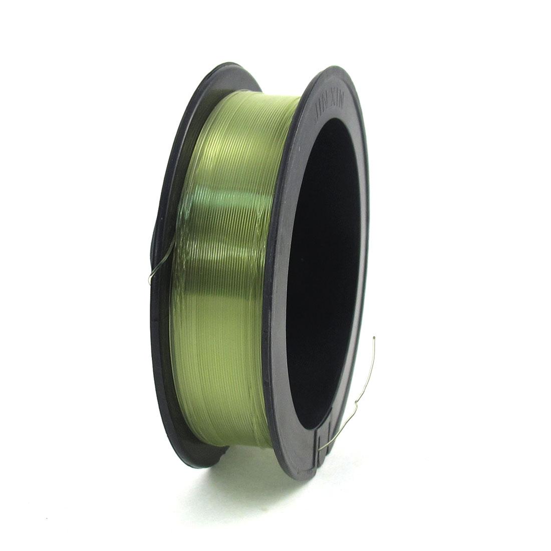 0.470mm Dia 8.0# 17.5Kg Capacity Light Green Fishing Line Thread Reel 100M