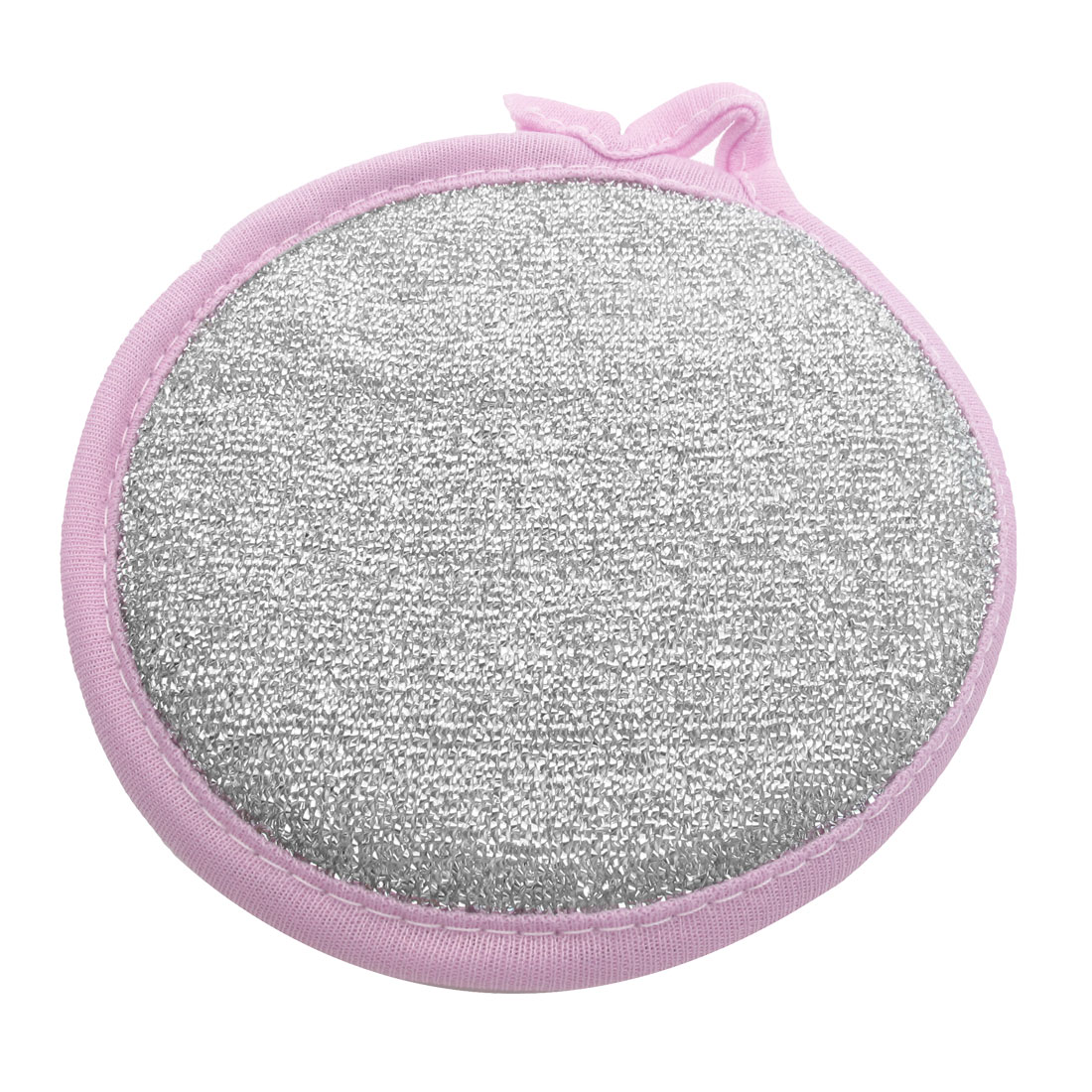 Round Shape Dish Scrubber Sponge Cleaning Pad for Kitchen