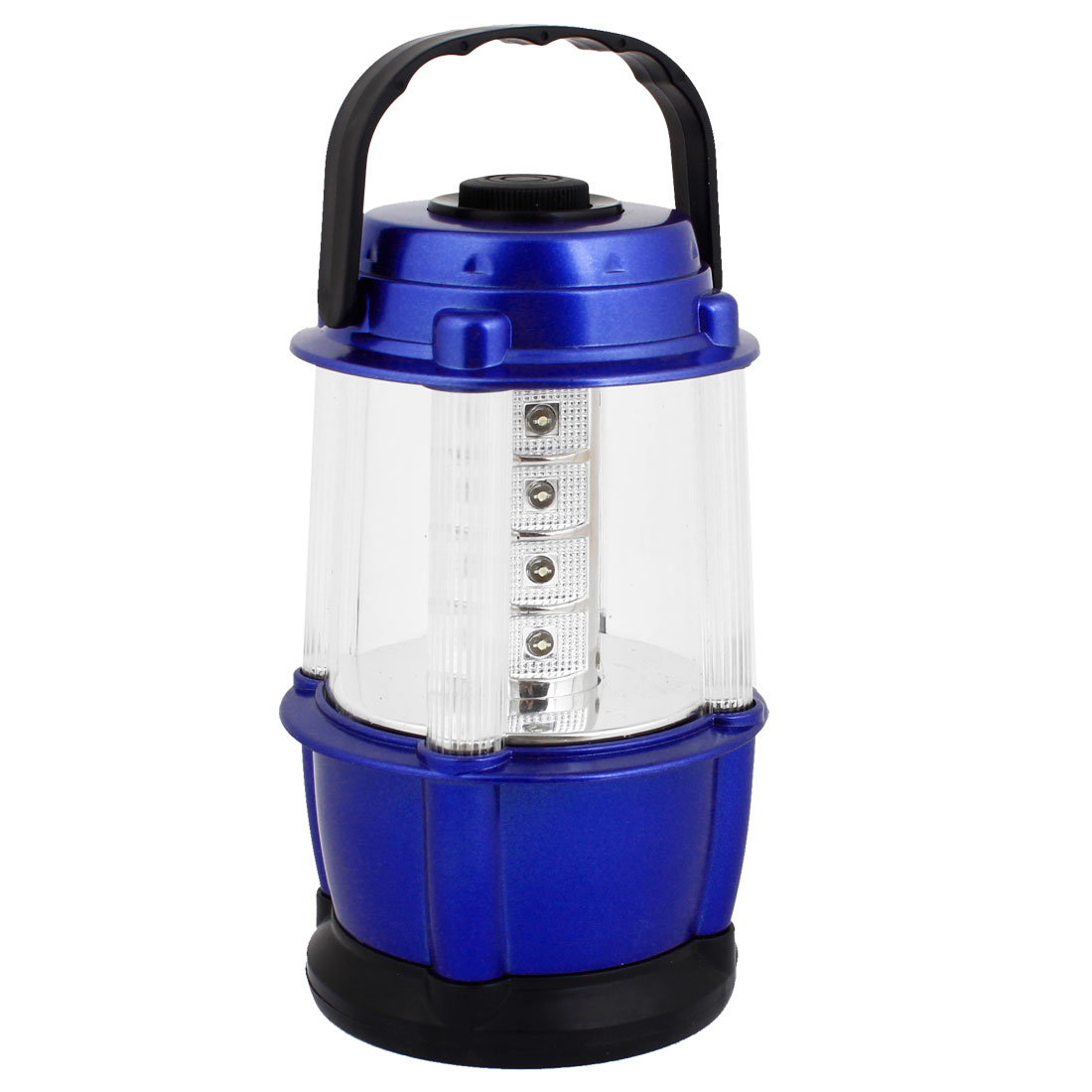 Blue Plastic Housing 12 White LEDs Camping Fishing Bivouac Lamp Light Lantern