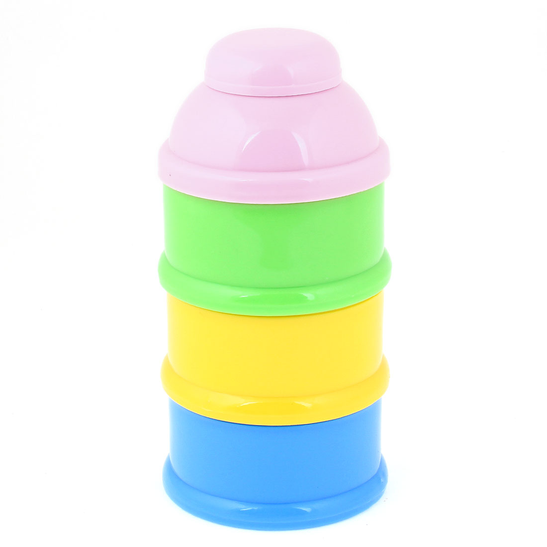 Baby 3 Tiers Milk Powder Portable Container Storage Bowl