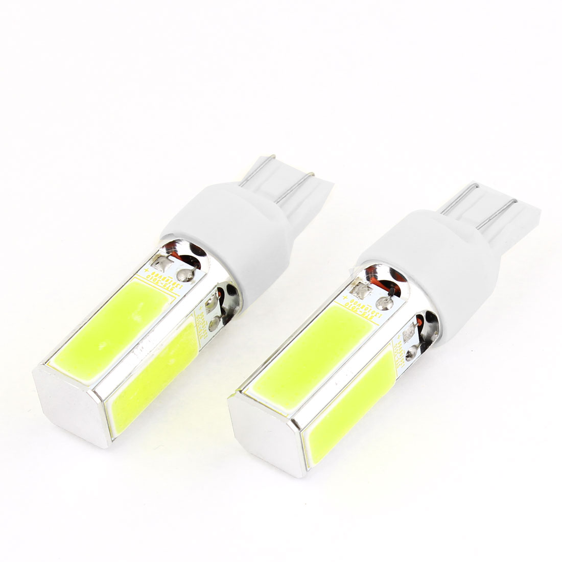 Car No Error High Power 15W 48 COB Chip LED Backup Light Bulb White 7443 x 2