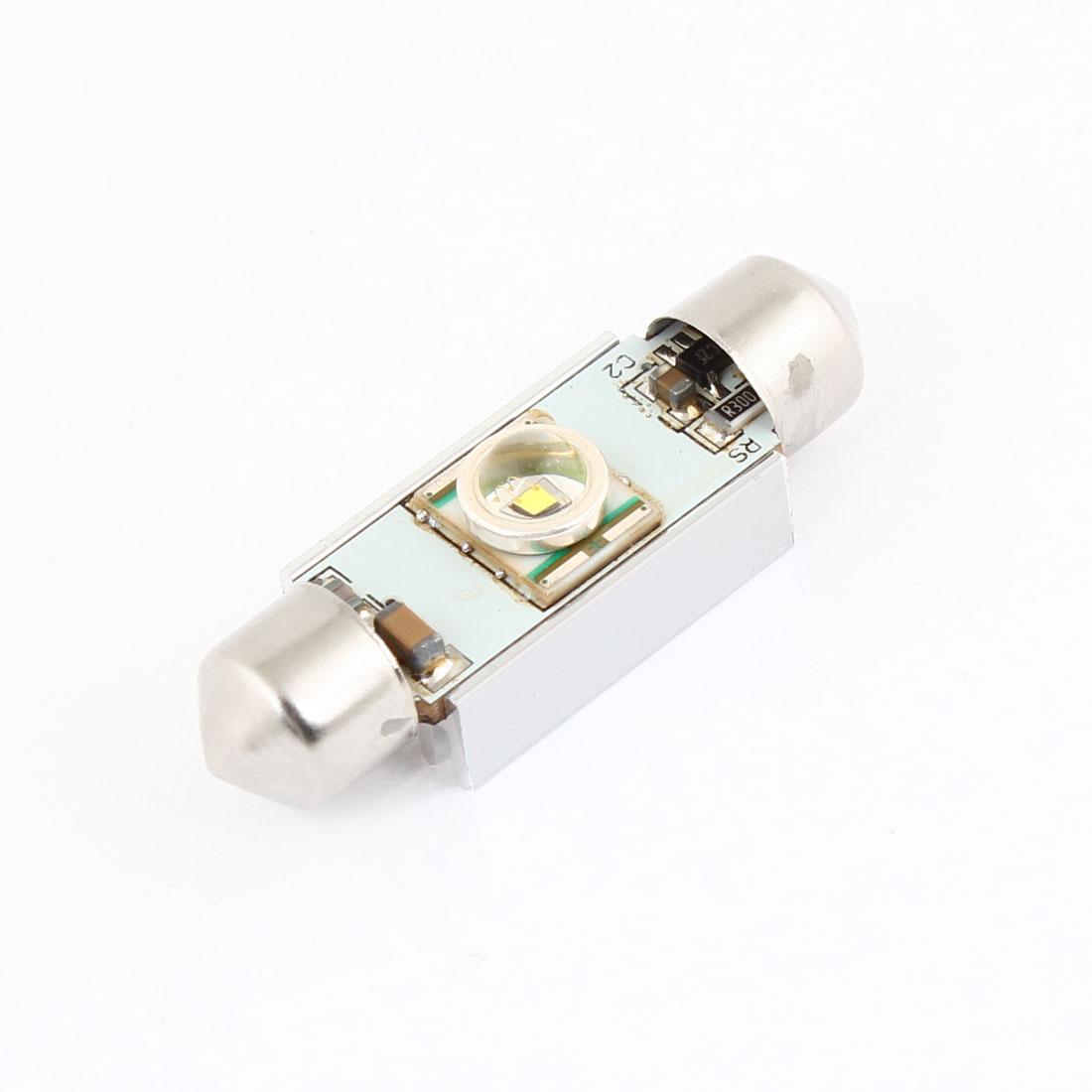 39mm Canbus White LED Heat Sink Festoon Light 7W for Car Interior Dome Lamp