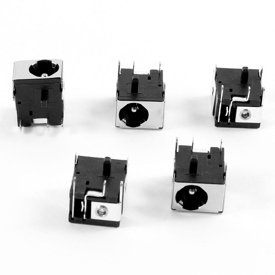5 Pcs PJ003SB DC Power Jack Connector for Gateway Solo 150 3300 3350 3450