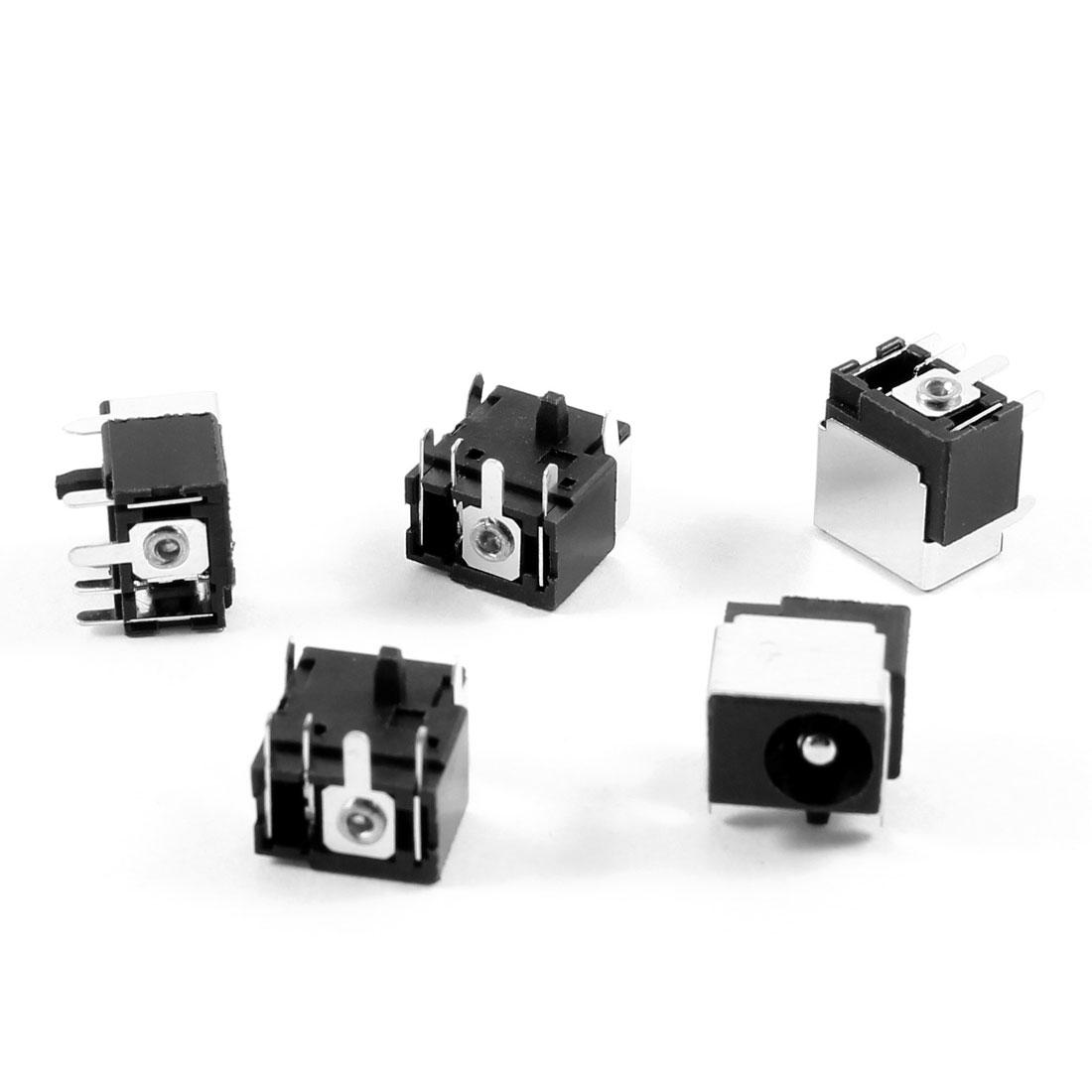 5 Pcs PJ016 DC Power Jack for Acer Travelmate 2700 3200 4400 4402WLMI 4500