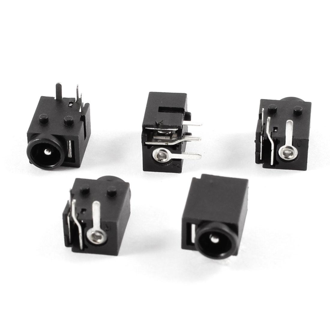 5 Pcs PJ037 DC Power Jack Connector for Gateway Solo 3400 3450