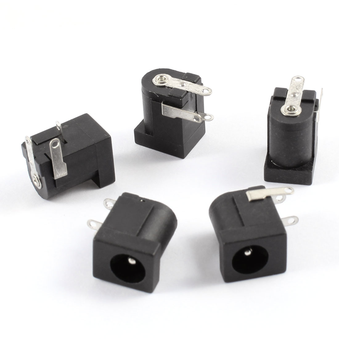 5 Pcs PJ002A DC Power Jack Connector for Clevo 2200C 2200T 2700C 2700T TS30i
