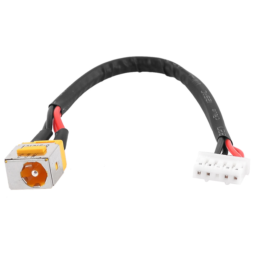 PJ424 1.65mm Center Pin DC Power Jack 4 Pins Cable for Acer Extensa 56302