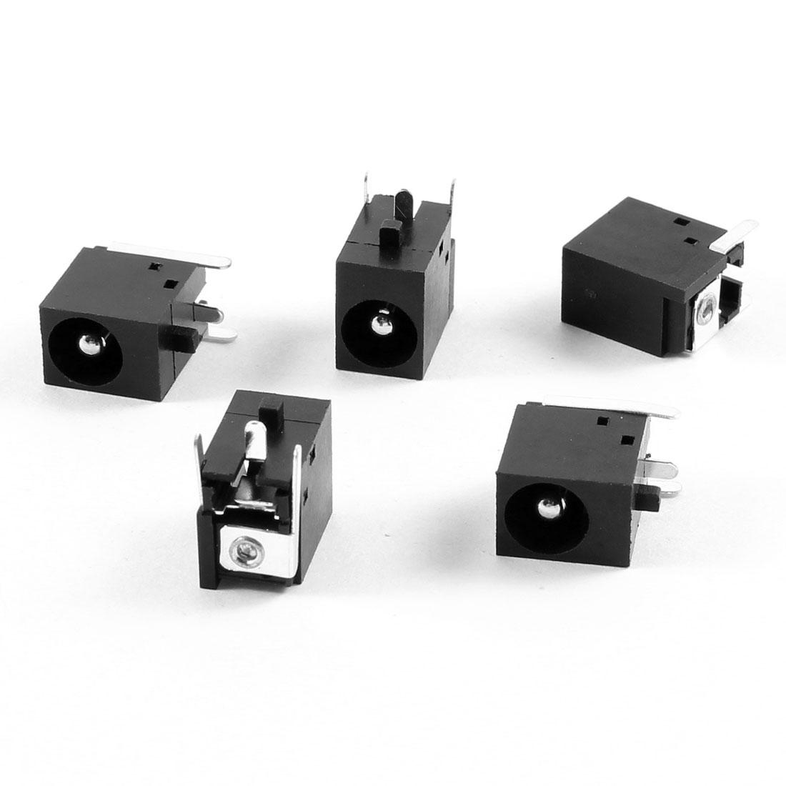 5 Pcs PJ001C DC Power Jack Connector for HP Pavilion XF series