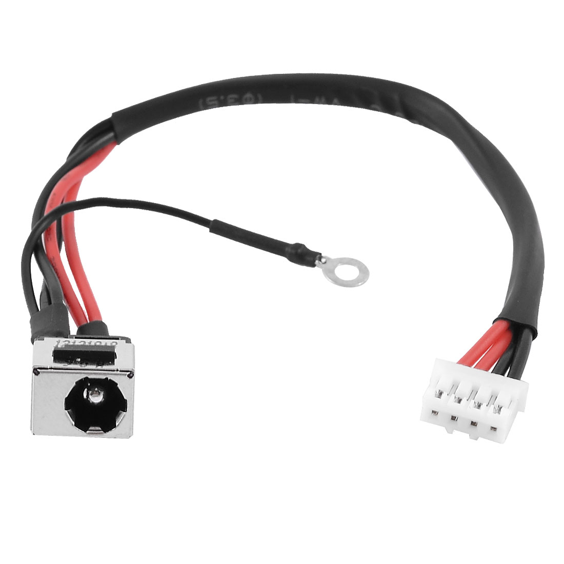 PJ401 2.5mm Center Pin DC Power Jack 4 Pins Cable for Lenovo W920
