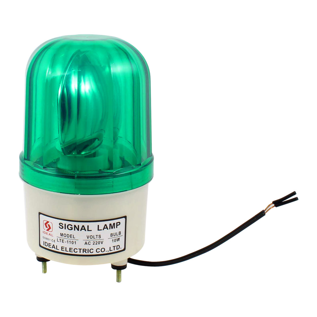 Industrial Green Flash Tower Lamp Stack Signal Warning Light 220V AC 10W