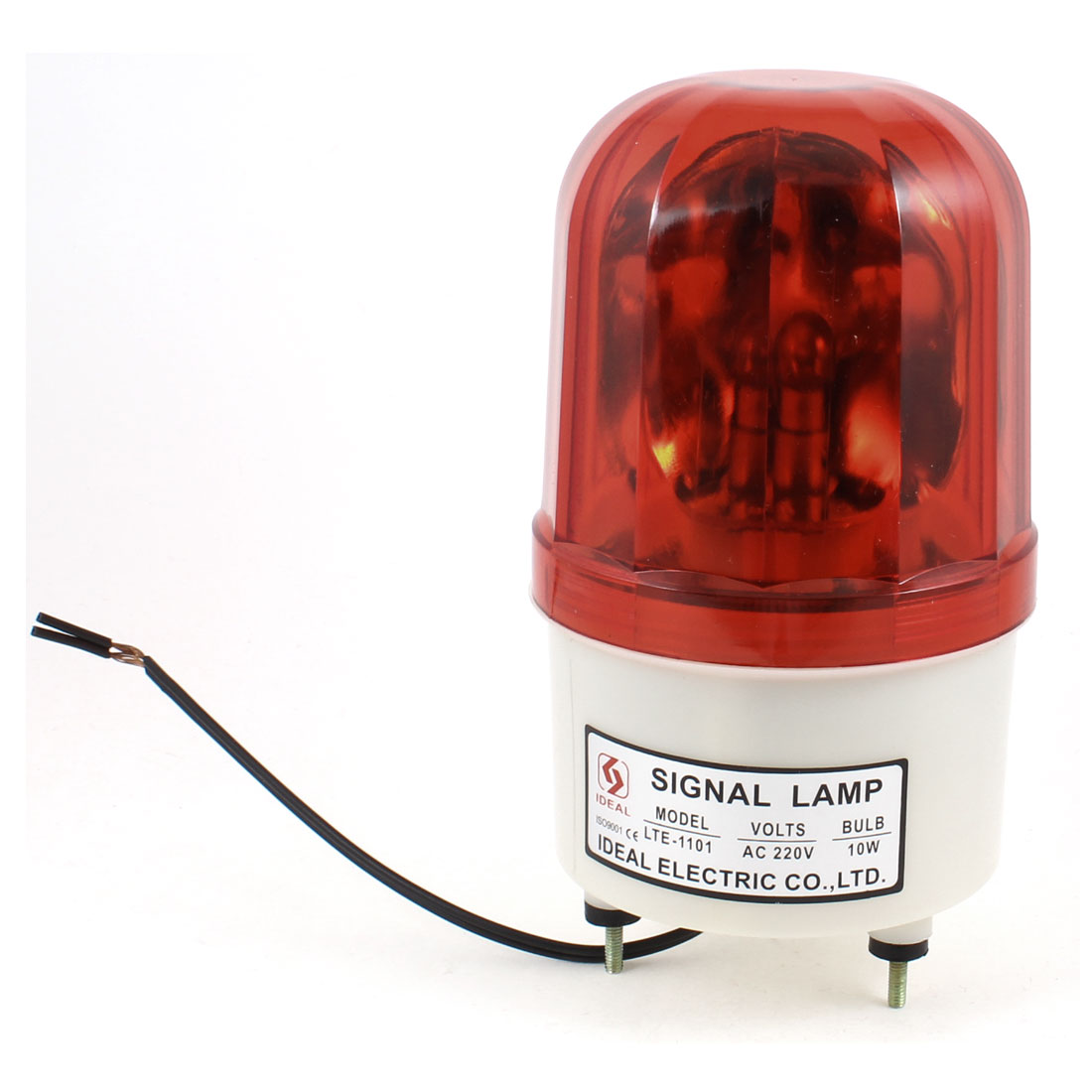 Industrial AC 220V Red Flash Signal Tower Lamp Stack Light Lamp