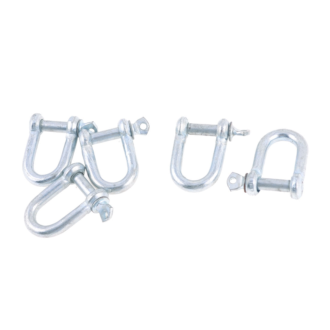 "5Pcs Spare Parts 6mm 15/64"" Screw Pin Chain Wire D Anchor Shackle"