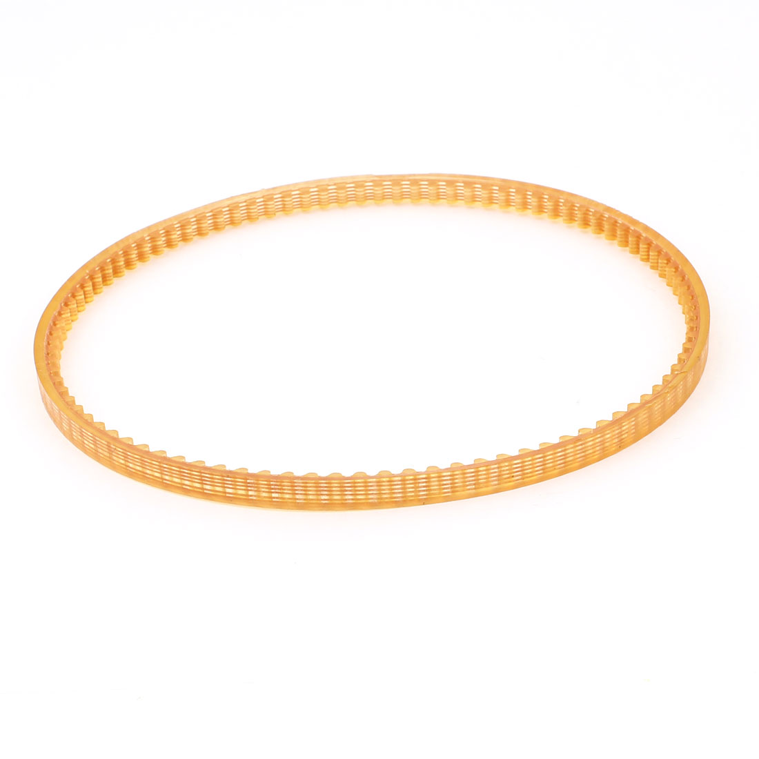 4mm Pitch 370mm Girth Single Sided Engine PU Timing Belt Orange