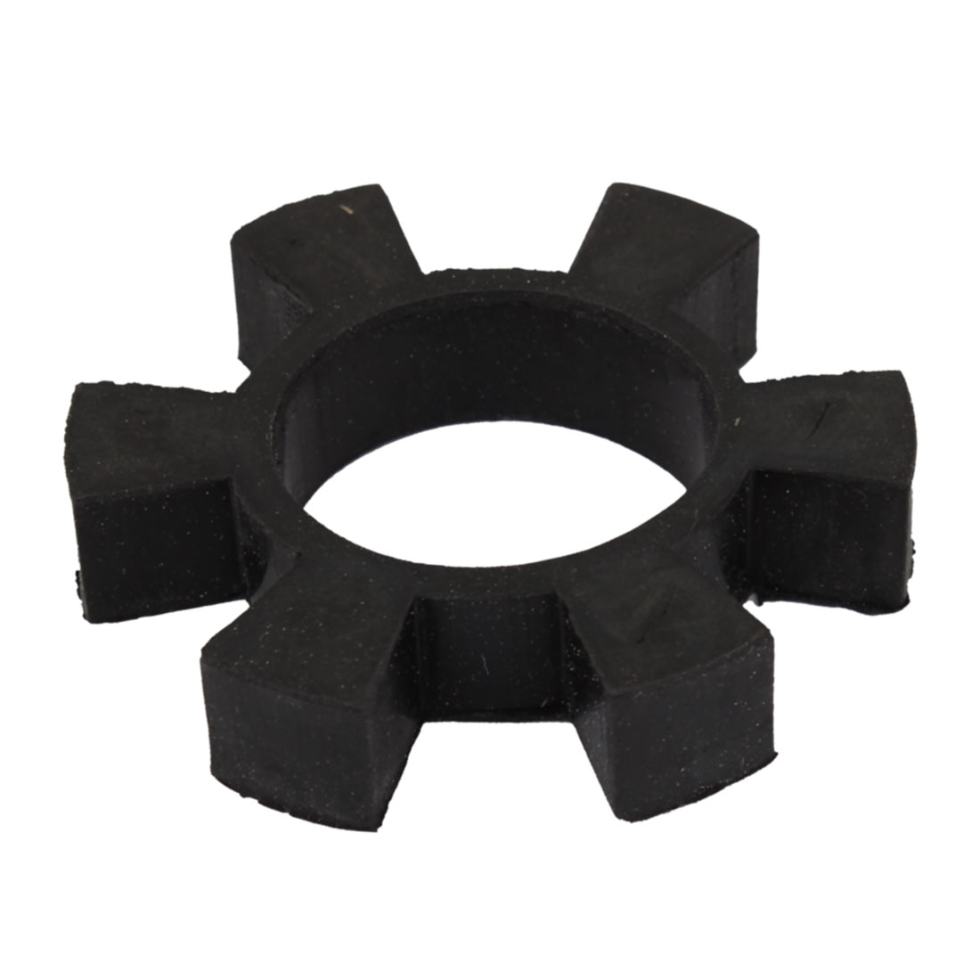 32mm Bore 6 Petal Black Rubber Drive Shaft Center Spider Coupler Damper