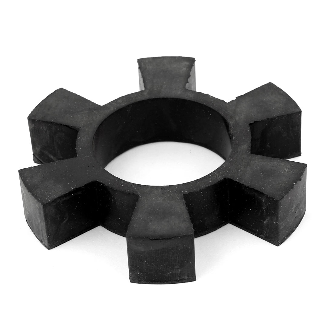"3.7"" 6 Petal Rubber Drive Shaft Coupling Insert Spider Cushion Black"