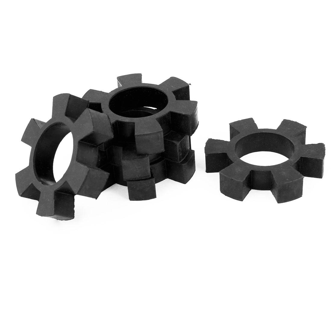 "5 Pcs 3.2"" OD Drive Shaft Coupling Damper Insert Spider Cushion Black"
