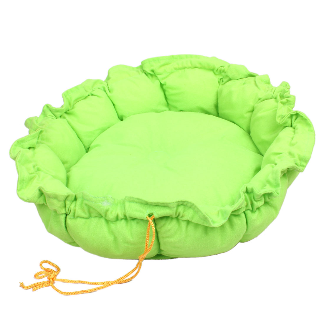 Green Fleece Removeable Cushion Bed Mat Pet Dog Doghouse Kennel