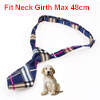 Colorful Check Print Adjustable Cat Pet Adorable Grooming Tie Necktie