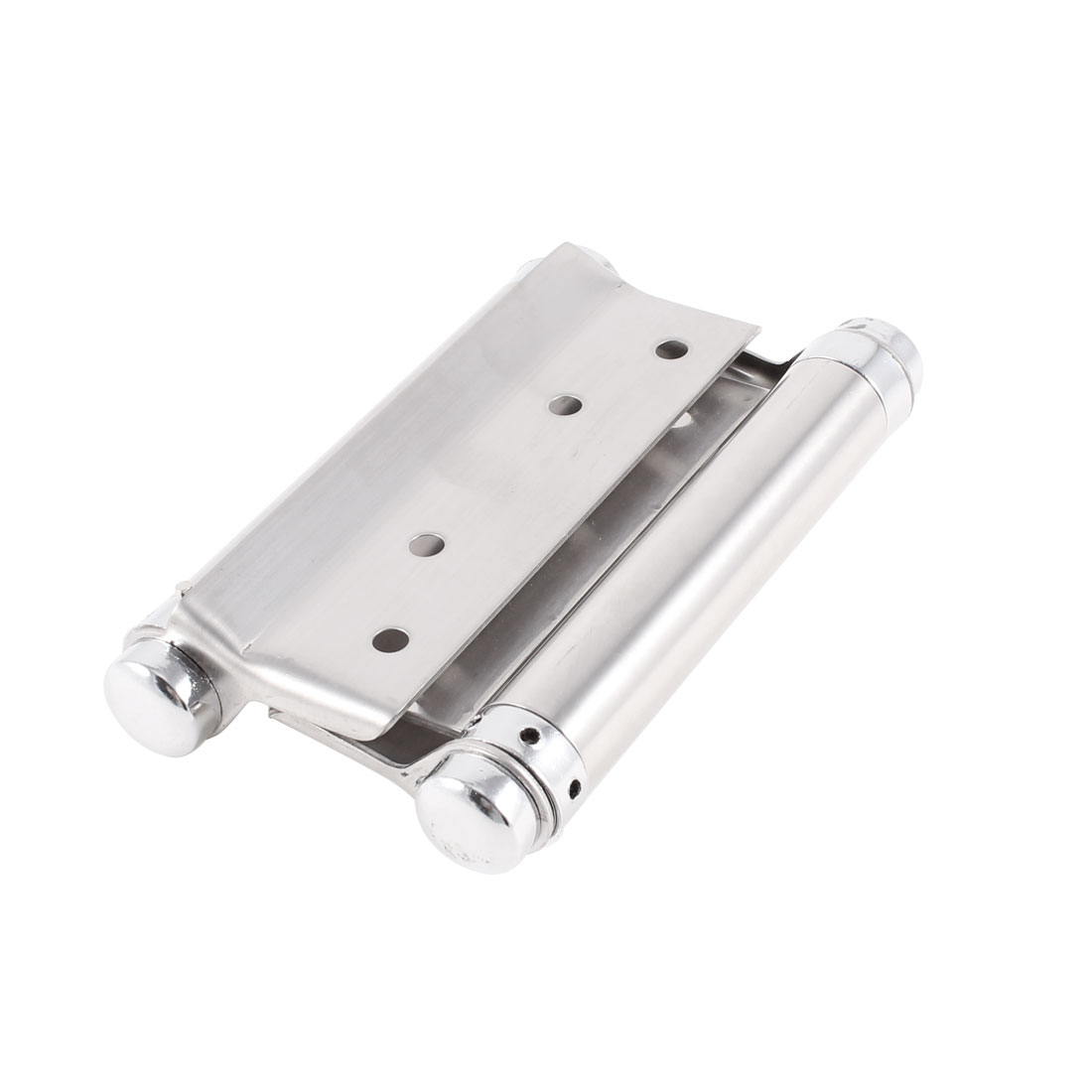 Silver Tone Tight Pin Stainless Steel Spring Loaded Door Windows Butt Hinges