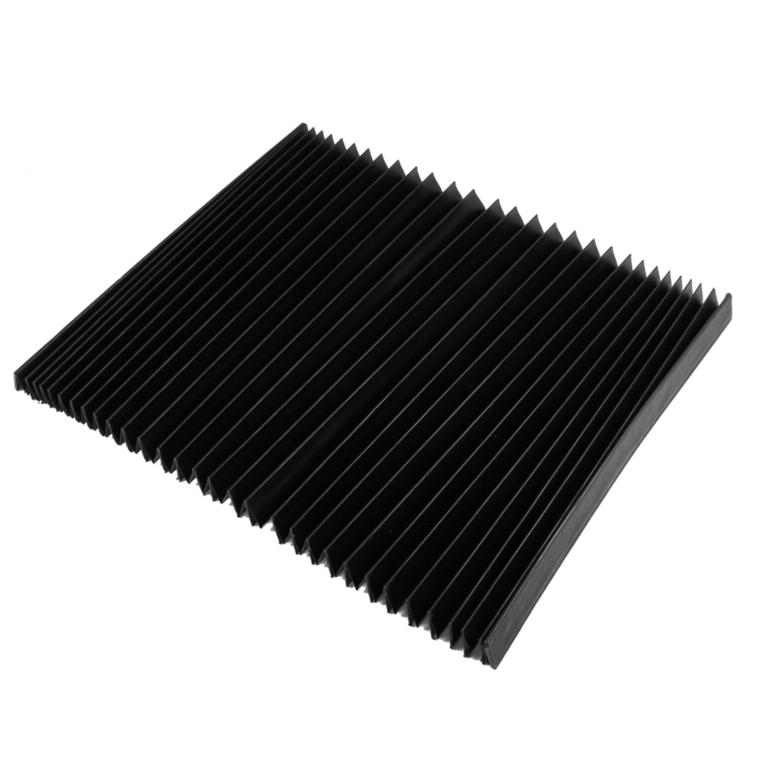 "11.2"" x 2.3"" x 0.78"" Flexible Accordion Dust Cover for Milling Machine"
